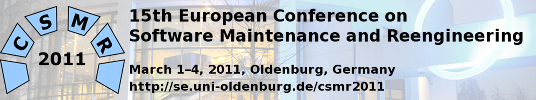 15th European Conference on Software Maintenance and Reengineering